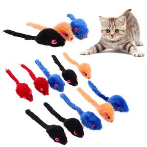 1/10 개 마우스 고양이 장난감 고양이 잡는 장난감 False 마우스 쥐 삐걱 소음 사운드 장난감을 위한 고양이는 개가 재미있 6x3x2.5cm