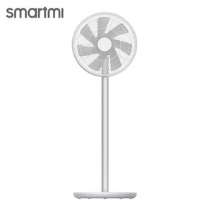 Free Fast shipping MIJIA SMARTMI Standing Floor Fan 2 DC Pedestal Standing portable Fans Rechargeable Air Conditioner Natural Wind