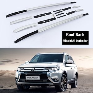 Aluminum Alloy Roof Rack For Mitsubishi Outlander 2013-2020 Rails Bar Lage Carrier Bars top Cross bar Rack Rail Boxes
