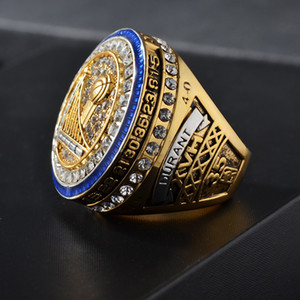 Nouvelle haute qualité Championnat de basket-ball Bague Homme Anneau 2016 2017 bijoux Guerriers Homme Memorial Anneaux Champion Ring