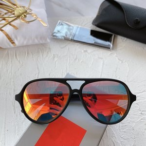 High-Quality R9049S KIDS Pilot Sunglasses UV400 for 3-8years 50-12-120 Imported Superlight Healthy Fullrim+Fashion REVO Lens fullset case
