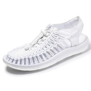 Hommes populaire sandales hommes casual sandales en tricot Grande taille rome chaussures pour homme été chaussures de plein air couple chaussure unisexe chaussure gladiateur zy329