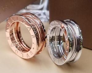 FAHMI 커플 고전 중공 링 좁은 버전은 화이트 골드 의사 골드 재질 파티 약혼 반지 선물 무료 배송 도매 장미