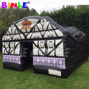 Outdoor restaurant ideas 5x5x3.4m inflatable irish pub,portable blow up inflatable bar tent,wine house for party