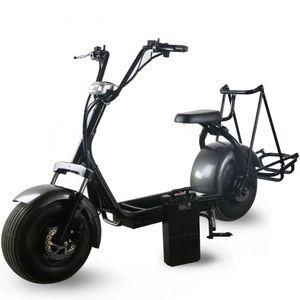E-Scooter Cidade Coco 2 1000W rodas motocicleta elétrica Adulto de golfe elétrico Scooter Citycoco Off Road Motorcycle elétrica
