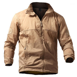 Lightweight Tactical Skin Jacket Men Summer Breathable Portable Waterproof Jacket Army Thin Jackets S-5XL1