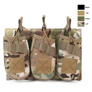 Outdoor Sports Tactical Backpack Vest Gear Accessory Mag Holder Cartridge Clip Pouch Tactical MOLLE Magazine Pouch P11-548
