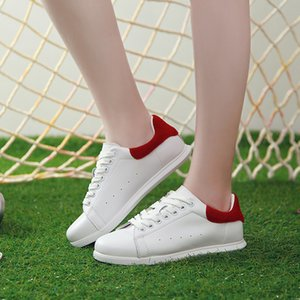 New High Quality Genuine Leather Flats Women  Ladies Casual Shoes Spring Autumn Sneakers Fashion White Women Shoes