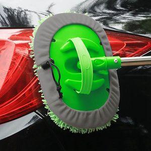 Téléscopique Car Wash Nettoyage Brosse Duster Wax Vadrouille épousseter outil Fonctions Microfibre réglables multi