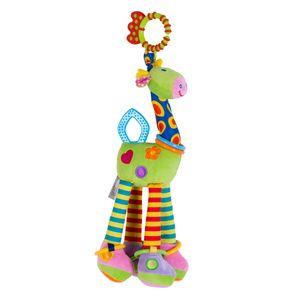 Mais recente Bebês bonitos Cama Decoração 37 centímetros infantil Giraffe Toy Animal Recheado Boneca Soft Toy Plush bebê recém-nascido Crianças Funny Toy Dolls