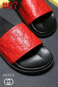 19FS sandalias de los hombres de la casa de verano de los deslizadores de los hombres de los deslizadores silencioso antideslizante zapatillas sobredimensiona