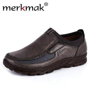 merkmak Sahte Süet Ayakkabı Kalın Sole Loafers Erkek Casual Açık Sneaker Karşıtı fişinde 2019 Breathble Tek ayakkabı Kayma
