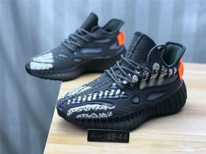 2020 Nuevo hombre de All Star de los zapatos corrientes 3M estático V3 Kanye West V6 de zapatos semi Amarillo Blanco Negro Deportes Seankers diseñador de los hombres Des Chaussures 2020