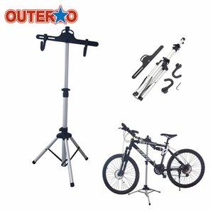 OUTERDO pesado liga de alumínio de bicicleta stand Repair MTB bicicleta Início suporte de armazenagem Ciclismo rack Titular Ferramenta de Manutenção