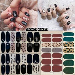 Lamemoria 3D multicolore autoadesivi adesivi YMX 14 Consigli stampato leopardo Logo Stickers manicure Sliders decorazioni nail impermeabile