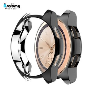 Ascromy Case For Samsung Galaxy Watch Gear S3 Frontier 42MM 46MM TPU Scractch-Resist Protective Cover screen protector accessory