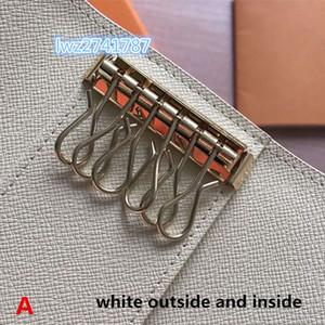 L'arrivée de nouveaux faits en hommes cuir véritable femmes porte-clés classiques avec 6 chaînes porte-clés programmeur clé avec la boîte