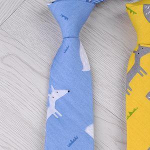 Fashion All-match Tie Ins Womens Matching Cotton Tie Shirt Womens Fashion Fun Tie Mens Groomsman Personality College