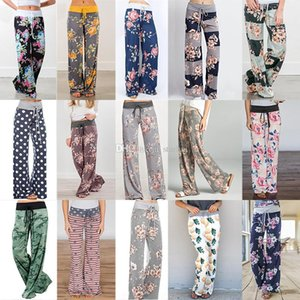 Yoga Fitness Wide Leg Pant Women Casual Sports Pants Fashion Harem Pants Lady Trousers Loose Home Long Pants 36 Style Free DHL WX9-627
