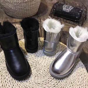 2019 новейший модельер WGG Женские классические высокие сапоги Высококачественные женские сапоги Ботинки Снежные ботинки Зимние ботинки кожаные ботинки