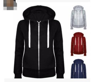 2019 trend Yamaha sale best hooded fashion zipper sweater coat long sleeve plus velvet sweater cardigan coat