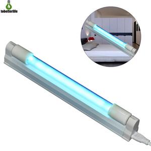UVC luce del tubo 110V 220V 4W 6W 8W con ozono UVC germicida luce T5 disinfezione del tubo di sterilizzazione della lampada UV per l'ospedale