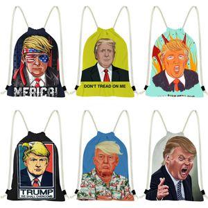 Trump Handbag High Quality Pu Leather Messenger Bag Famous Brand Business Laptop Computer Handbag Briefcases Men Tote Bag S #641