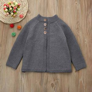 Дети марка свитер девушки с длинным рукавом SWALLOWTAIL Мыса свитер Детский конструктор одежды Британский стиль девушки пальто 3 цвета для детей