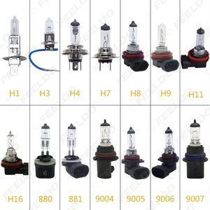2pcs автомобиля H1 / H3 / H4 / H7 / H8 / H9 / H11 / H16 / 880/881/9005/9006 55W / 100W 80W Белый Противотуманные фары Галогеновые лампы # 2861
