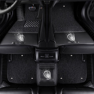 3D Auto Fußmatten für Mercedes Benz Logo Viano ABCEGSR V W204 W205 E W211 W212 W213 Klasse CLA GLC ML GLA GLE GL GLK Autoteppich