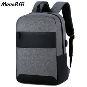 Impermeabile zaino multifunzionale Travel Bag Fit 18 Inch Laptop Zaini USB Uomo di grande capienza dello zaino maschio Mochila Borse