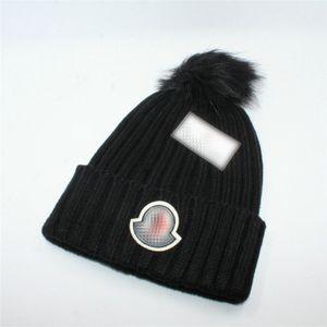 Tricoté hiver Chapeau Calotte Marque Bonnet Solide Couleur Calotte Laine Hat Hip Hop Bonnet Skull Caps