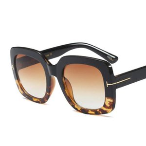 Große Rahmen Sonnenbrille Damen Trending Mens Mode Luxus Designer Gläser Übergroße Sqaure Lunettes de Soleil