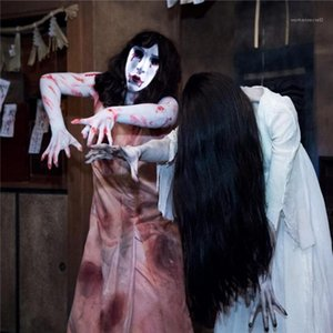 Costume Acessórios Estilo Halloween das mulheres assustador Festival Cosplay Feminino Roupa Moda Casual Máscara Designer Vestuário Vampires