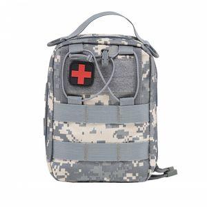 Par DHL Kits d'urgence vider le sac avec la courroie médicale trousse de premiers soins de voiture taille Pack 1000D Nylon 14 * 20 * 8 cm camping en plein air tactique Molle Pouch