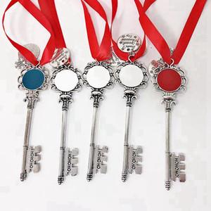 Noel Kırmızı Ropoe Ile Metal Anahtarlık Metal Anahtarlık Ruj Tutucu Kızlar Hediye Için Chapstick Tutucu Decoraton Chriatmas 08