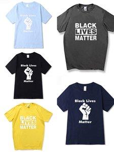 No puedo respirar! Mens superior del diseñador la camiseta ocasional de las mujeres impresión de las letras T-shirt de verano con capucha para hombre de París Fan T Camisa de lujo del tamaño S-2XL # 715
