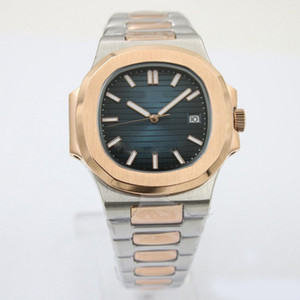 tabie821219 disponibles Nuevo reloj automático de la maquinaria 40mm No hay batería del reloj modelo de zafiro de cristal relojes Bien parecido reloj de acero inoxidable
