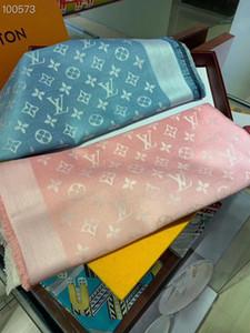 2020 vente chaude haut de gamme tendance de la mode luxe classique dames écharpe châle adapté pour datant fête cadeau de jour de Noël