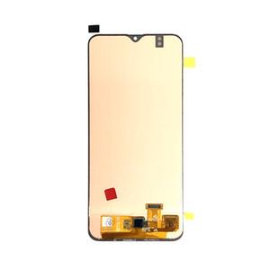 OLED LCD Ekran Ekran Digitizer için Samsung Galaxy A20 A205 6.4 inç ekran Hayır Çerçeve Yedek Parça Siyah