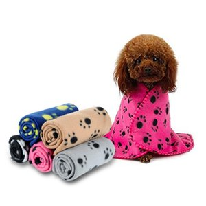 Lovely Pet Prints Fleece Blankets for Dogs Cats Animals