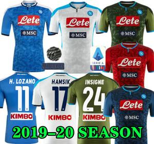 19 20 maillot de football maillot de football Napoli Naples 2019 2020 KOULIBALY camiseta de Fútbol INSIGNE MILIK de pied ALLAN maillot manches courtes MERTENS camisa