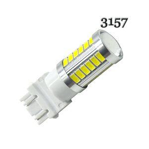 10X haute puissance T25 3156 3157 flash stroboscopique 33 SMD 5630 5730 LED clignote ampoule Blanc clignotant Rouge Orange Clignotant Voyant de frein