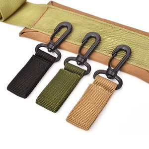 360 Degree Rotation Sports Tactical Belt Plastic Hanging Carabiner Outdoor Ribbon Buckle Camp Water Bottle Hanger