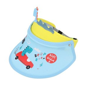 Children Cartoon Summer Hats Breathable Durable Security Cool For Baby Girl Boy Kids Sunshade Sun Kids Snapback D3