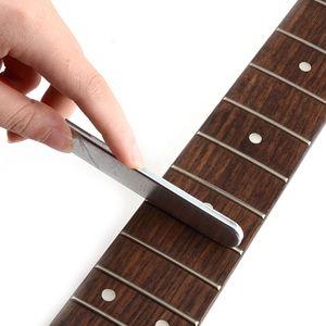 Guitarra tamiri için Kenar Kesme Aracı Gitar Araçları Gitar Perde Dosya Dayanıklı Paslanmaz Çelik Küçük Çift
