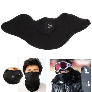 Fleece Balaclavas Ski Cycling Half Face Mask Coprire Outdoor Sport Antivento Copricapo Sciarpe Copricapo Maschere in neoprene