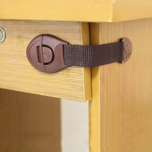 1Pcs Toddler Child Safety Lock Baby Drawer Lock Refrigerator Window Closet Wardrobe Children Security Protection For Cabinet