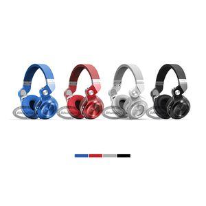 Bluedio T2 + 무선 블루투스 5.0 스테레오 헤드폰 내장 마이크 핸즈프리 스마트 폰용 모바일 통화 및 음악 스트리밍