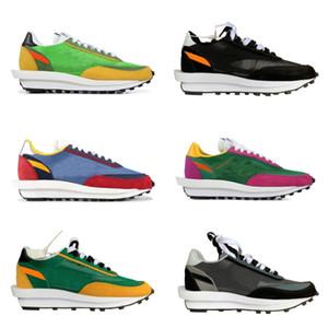 상자 LDV 신발 남성 트레이너를 실행 검은 색 흰색 노란색, 녹색, 분홍색 여성 빛 운동화 새로운 2019 신발 상단 공장 버전